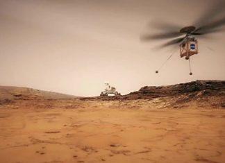 Berhasil Uji Coba, NASA Targetkan Mars Helicopter Terbang Tahun 2020