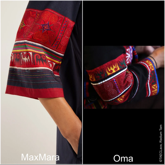 Max Mara Diduga Mencuri Ide Desain Busana Dari Komunitas Oma di Laos