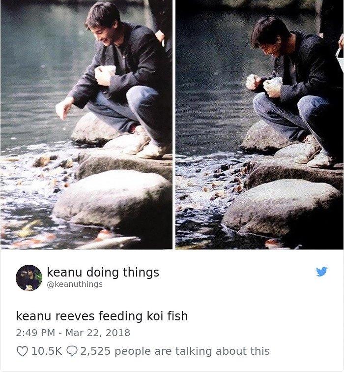 Jadi Model Saint Laurent Men, Keanu Reeves Dapat Dukungan dan Cinta Netizen