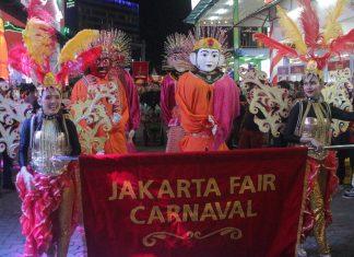 Meriahnya Parade Carnaval Jakarta Fair Kemayoran 2019