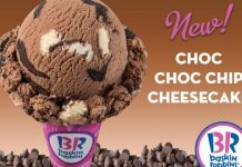 Mei 2019, Baskin Robbins Manjakan Para Pencinta Cokelat dan Cheesecake