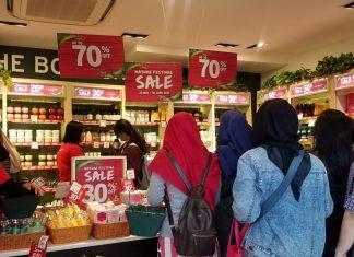 Promo Produk Kecantikan di Jakarta Fair Kemayoran 2019