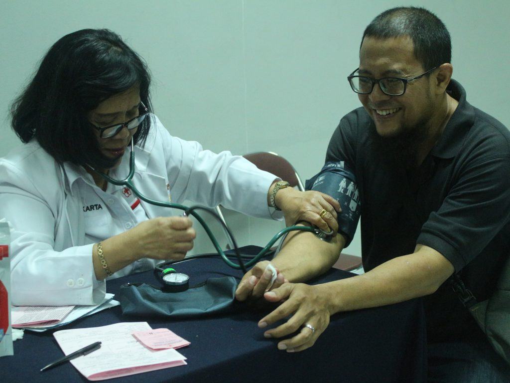 Donor Darah dan Pemenang Grand Prize Jakarta Fair Kemayoran 2019 Periode Pertama