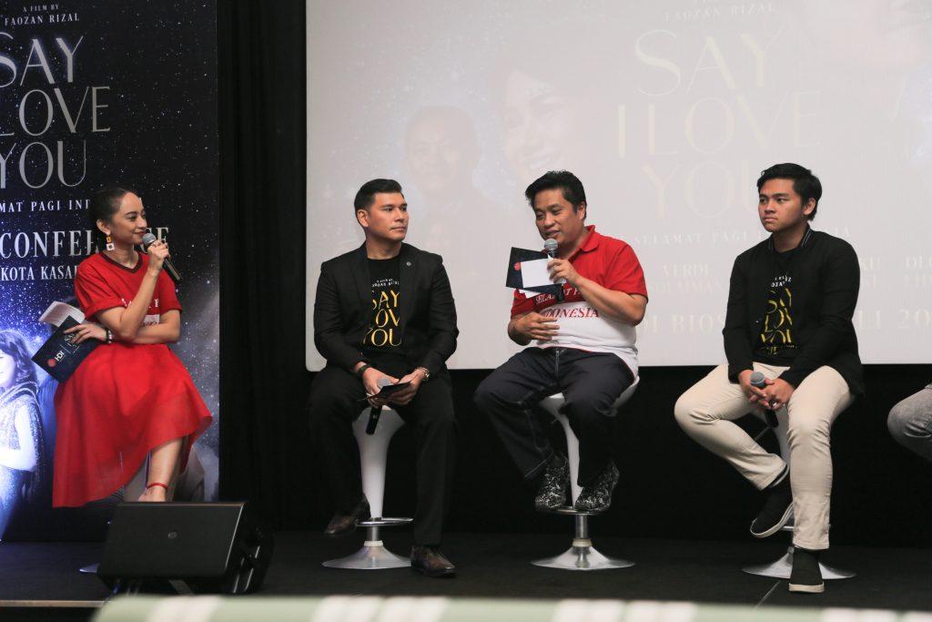 Kisah SMA Selamat Pagi Indonesia Diangkat dalam Film 'Say I Love You'
