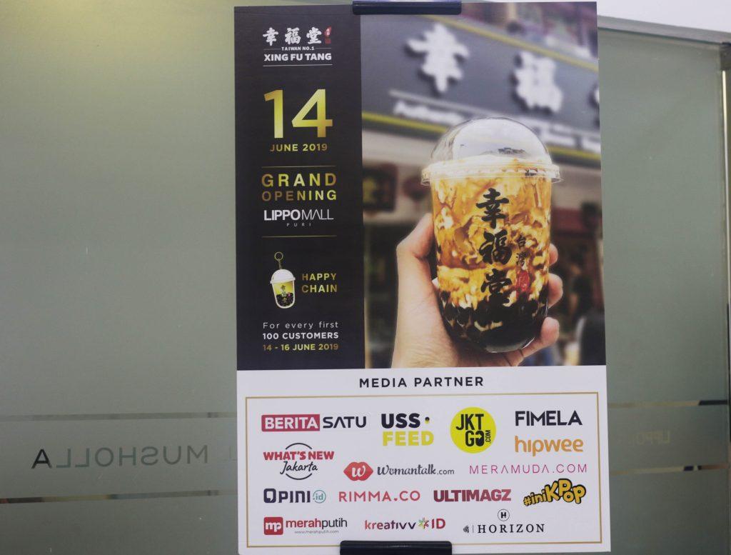 Grand Opening Booth Pertama Xing Fu Tang Indonesia