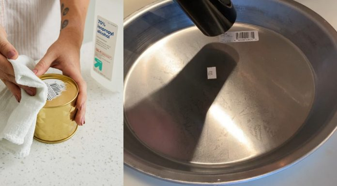 Tips Melepaskan Stiker Label Harga dengan Cepat dan Bersih Ala Martha Stewart
