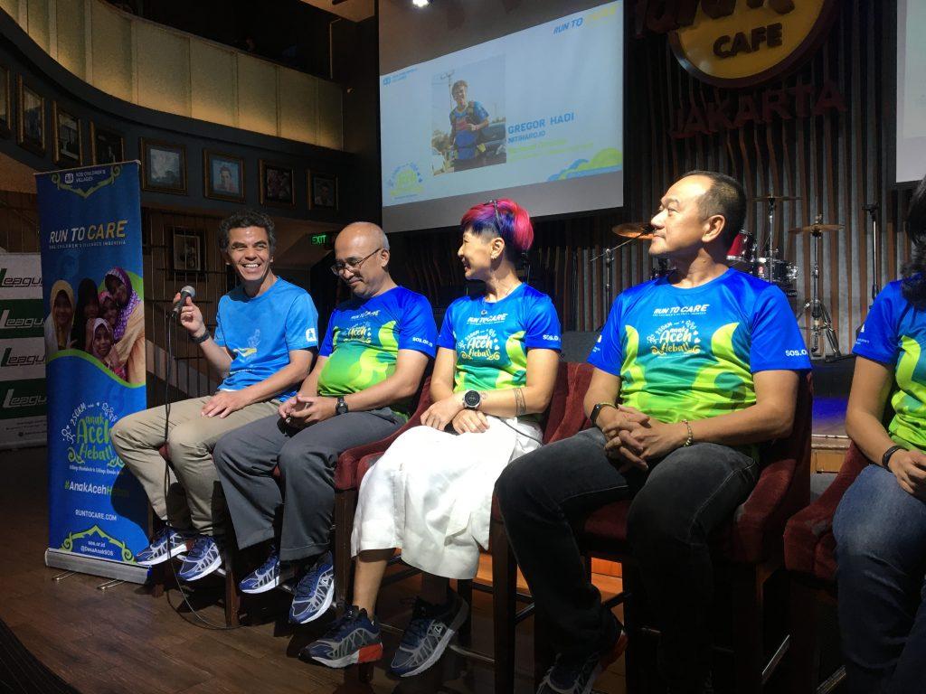 Galang Dana untuk #AnakAcehHebat, Lima Pelari Run To Care Siap Lari 250 Kilometer