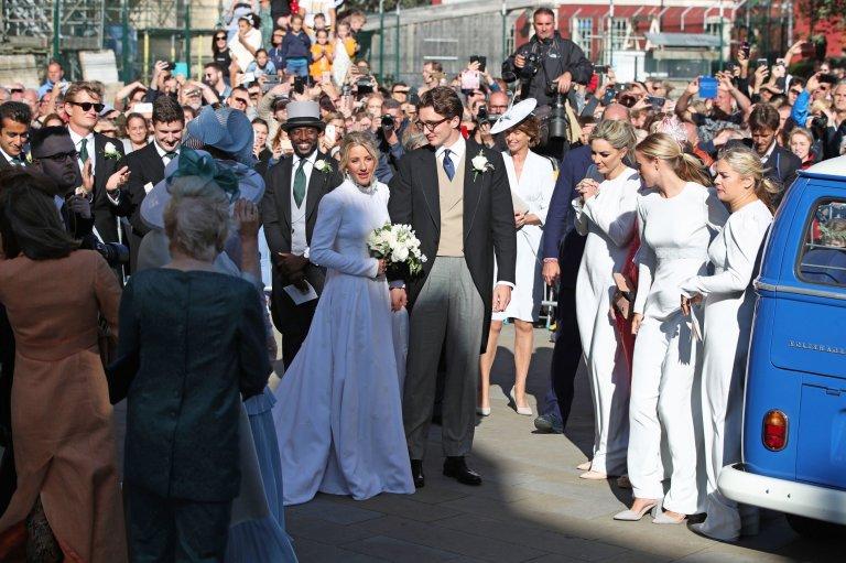 Pernikahan Mewah Ellie Goulding dengan Caspar Jopling, Bak Keluarga Kerajaan
