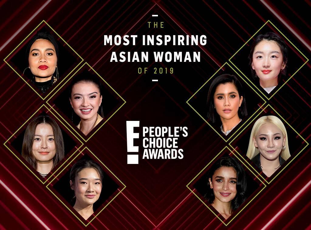 E! People's Choice Awards 2019: Delapan Nominasi Wanita Asia Paling Menginspirasi