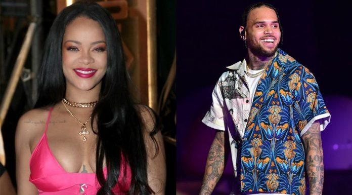 Komentar Chris Brown di Postingan Instagram Rihanna Picu Amarah Penggemar