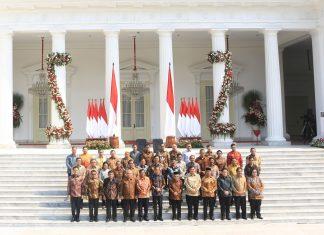 Daftar Menteri Kabinet Indonesia Maju Jokowi-Ma'ruf Amin Periode 2019-2024