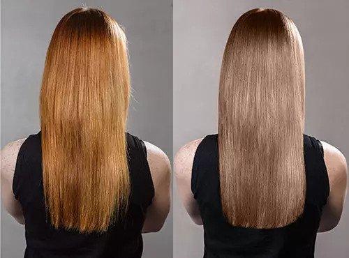 Cara Menghilangkan Rambut Oranye Setelah Bleaching