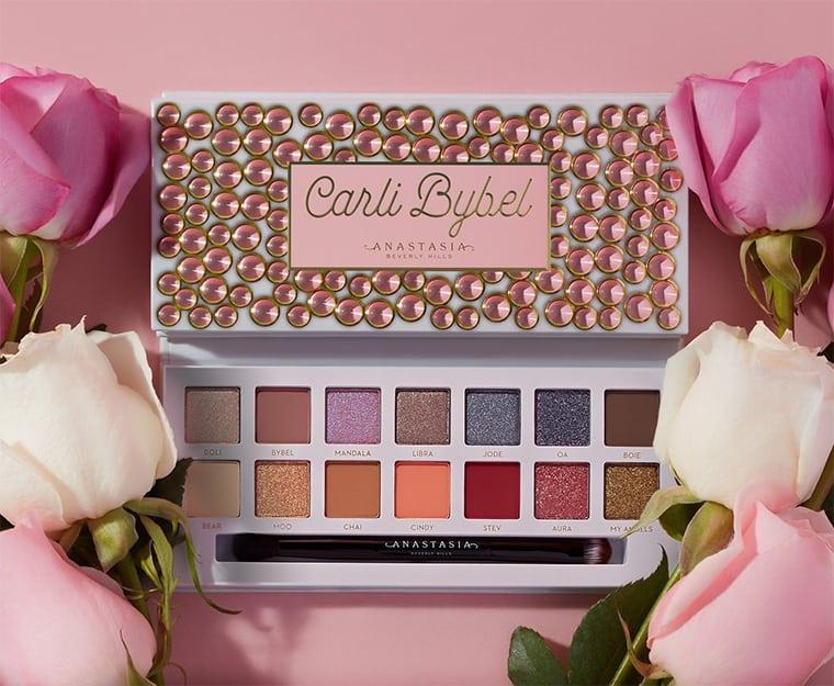 Permudah Makeup Sehari-hari, Carli Bybel Berkolaborasi dengan Anastasia Beverly Hills Ciptakan Eye Shadow Palette Multifungsi