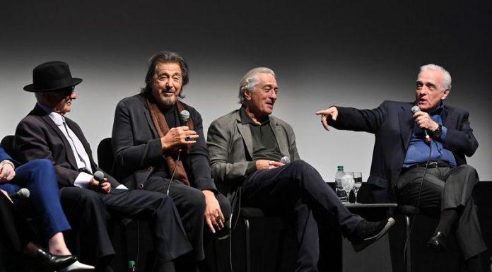 The Irishman Besutan Martin Scorsese Tayang Perdana di New York Film Festival