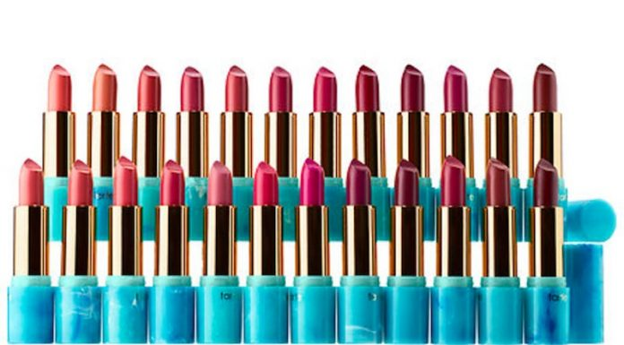 Atasi Bibir Kering di Musim Dingin, Tarte Rilis Tarte Color Splash Lipstick