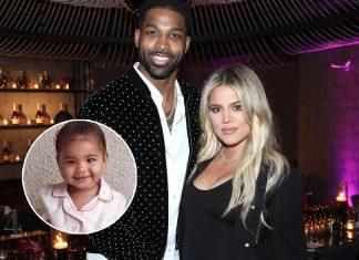Khloe Kardashian dan Tristan Thompson Bersama di Pesta Natal Keluarga