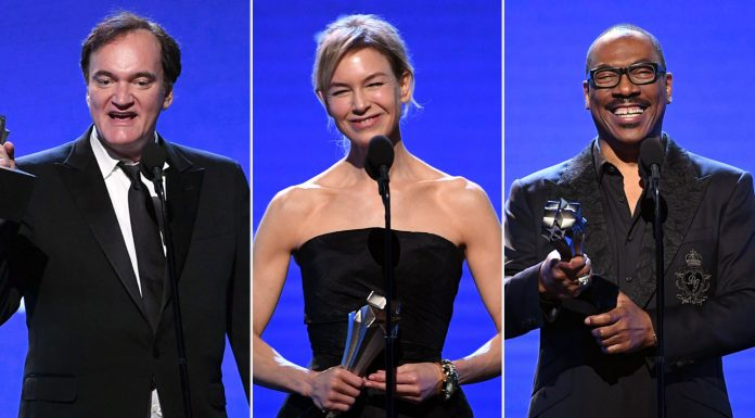 Daftar Pemenang Critics' Choice Awards 2020: 'Once Upon a Time in Hollywood' Raih Best Picture