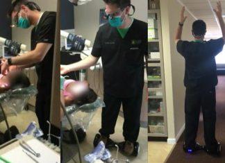 Dokter Gigi Dapat Puluhan Tuntutan Setelah Cabut Gigi Pasien sambil Naik Hoverboard