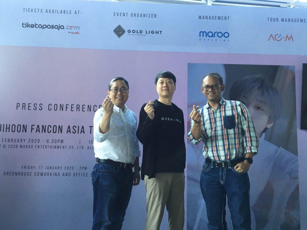 Tiket Park Ji Hoon Fancon Asia Tour di Jakarta Dijual Mulai 20 Januari 2020