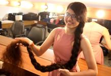 Remaja Pemecah Rekor Dunia dengan Rambut Sepanjang 6 Kaki