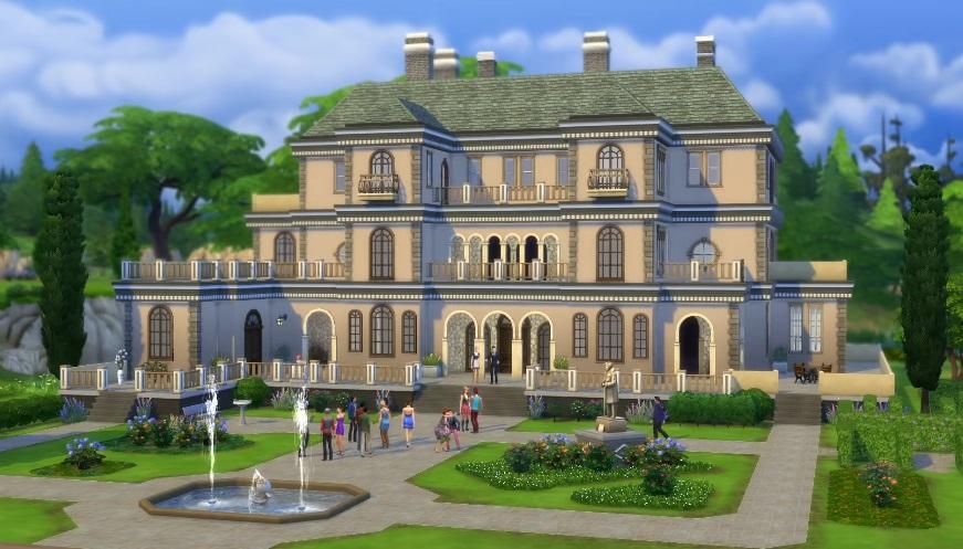 Simlish, Sejarah Bahasa Random The Sims