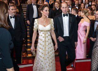 Awkward! Brad Pitt Bercanda Tentang 'Harry' Di Depan Pangeran William dan Kate Middleton