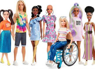 Rayakan Keberagaman, Mattel Rilis Barbie dalam 35 Skin Tones