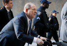 Harvey Weinstein Divonis 23 Tahun Penjara