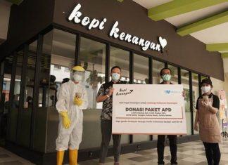 Melalui Gerakan #LindungiPahlawanKenangan, Kopi Kenangan Distribusikan 5.000 Paket APD ke Berbagai Rumah Sakit