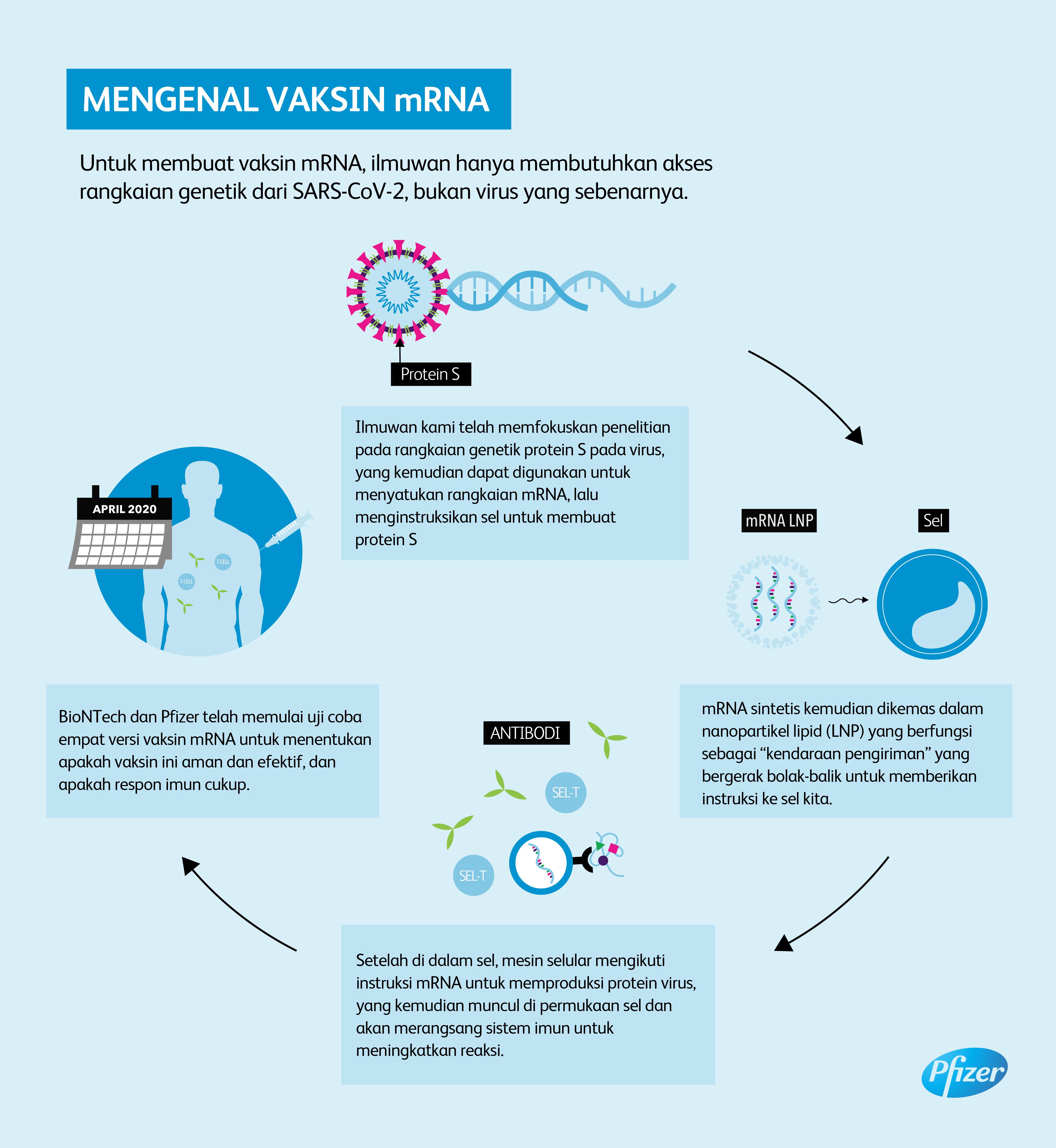 Pfizer dan BioNTech Lakukan Uji Coba Program Vaksin mRNA Tahap Pertama di AS