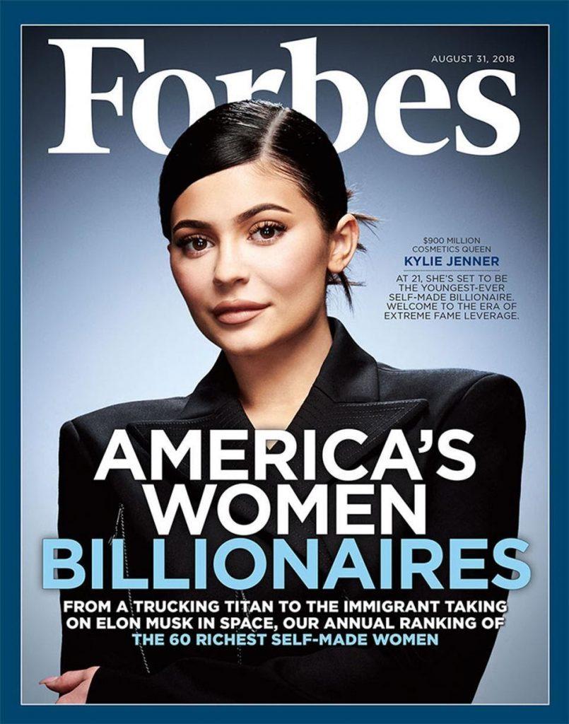 Kylie Jenner Tidak Lagi Masuk Billionaire List Milk Majalah Forbes
