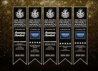LIXIL Umumkan Para Pemenang Asia Pacific Property Awards 2020-2021