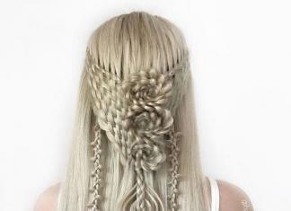 Remaja Jerman Ciptakan Gaya Rambut Kepang Kompleks yang Indah