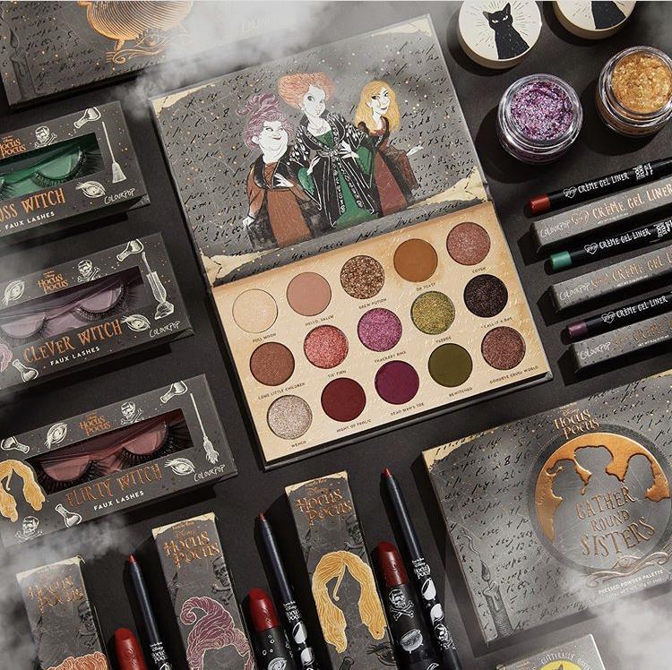 Tampil Jadi Penyihir Cantik dengan Koleksi Terbaru ColourPop Disney Hocus Pocus