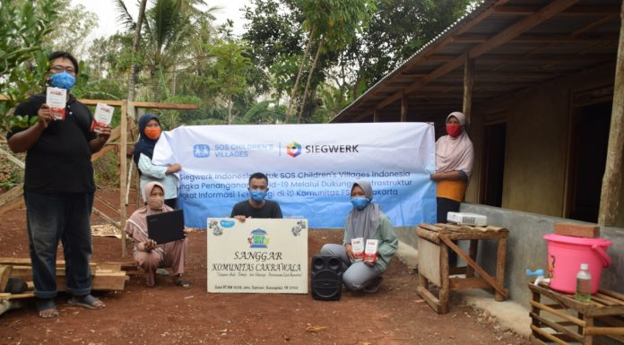 Kerja Sama Siegwerk Indonesia dan SOS Children's Villages Indonesia untuk Pendidikan Generasi Muda