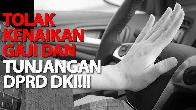 Warga Jakarta Termasuk Para Seleb Ini Menolak Kenaikan Gaji Anggota DPRD DKI Jakarta