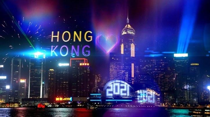 Masih Pandemi, Hong Kong Gelar Perayaan Hitung Mundur Secara Online