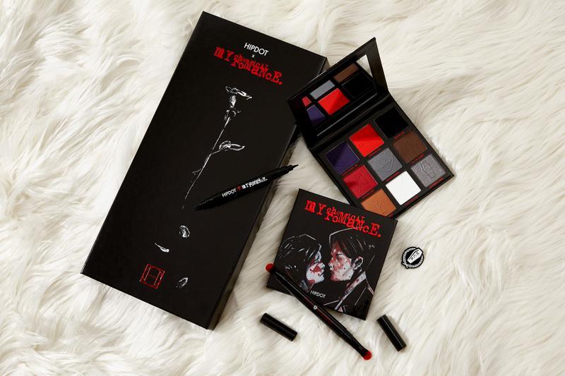 My Chemical Romance Berkolaborasi Bersama HipDot Rilis Koleksi Makeup Terbaru