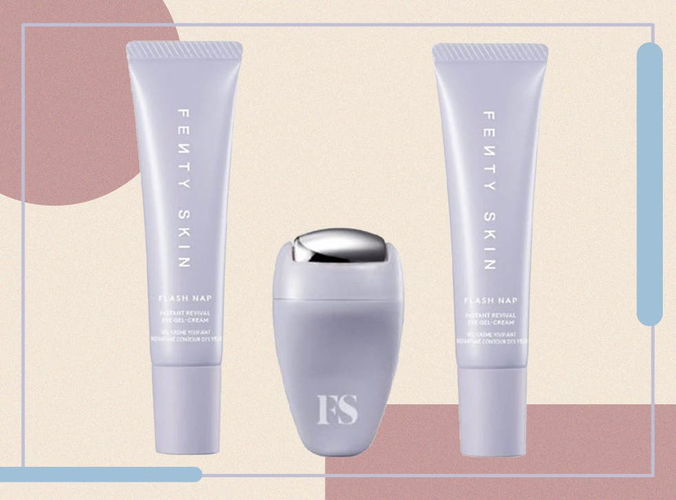 Atasi Dark Circle, Rihanna Perkenalkan Produk Baru Flash Nap Instant Revival Eye Gel-Cream
