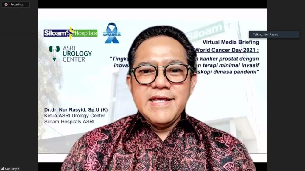 Inovasi Biopsi Robotik dan Pilihan Terapi Minimal Invasif Laparaskopi untuk Tingkatkan Kualitas Hidup Pasien Kanker Prostat