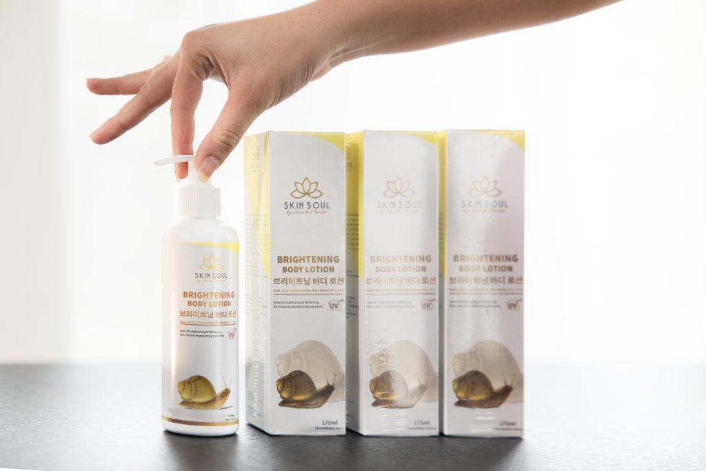 Amanda Manopo Luncurkan Produk Body Lotion Skin Soul Brightening by Amanda Manopo