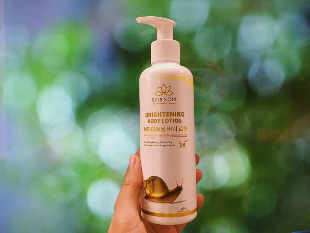 Review Skin Soul Brightening Body Lotion by Amanda Manopo