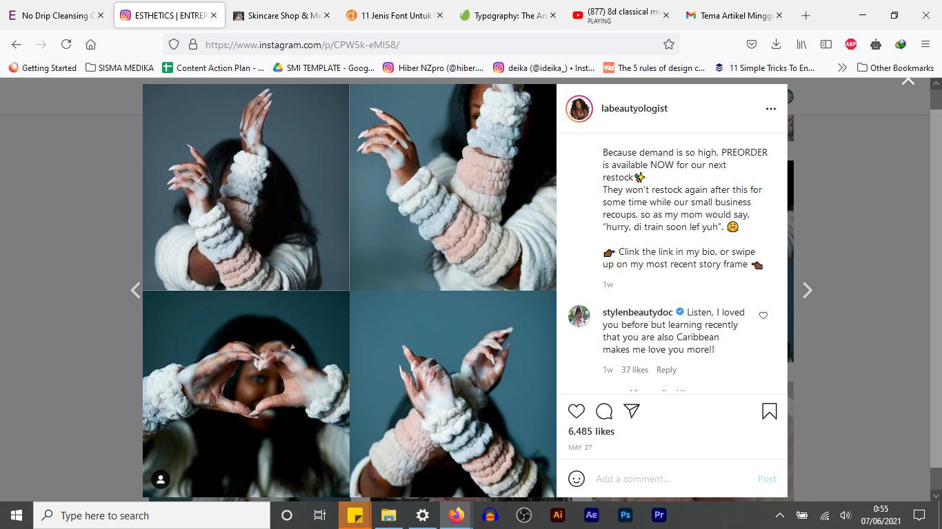 No Drip Cuff, Produk Skincare Viral Untuk yang Nggak Suka Air Menetes ke Siku