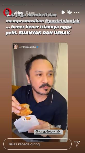 Politisi Ini Borong Makanan dan Manfaatkan Sosial Media untuk Promosi UMKM