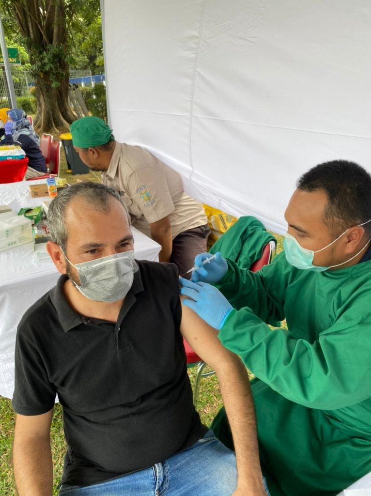 PT Takeda Indonesia Beri Vaksin Gratis untuk 180 Karyawan, Dukung Tanah Air 'Kebal' Corona