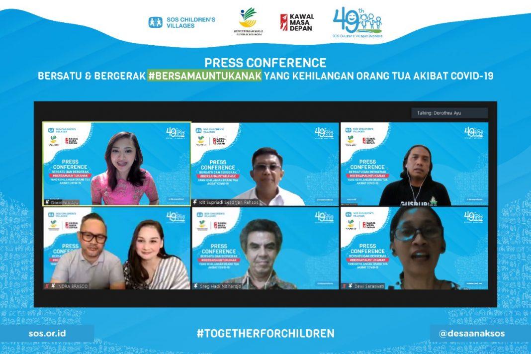 Upaya SOS Children's Villages Indonesia Menjaga Masa Depan Anak Terdampak Pandemi Melalui #BersamaUntukAnak