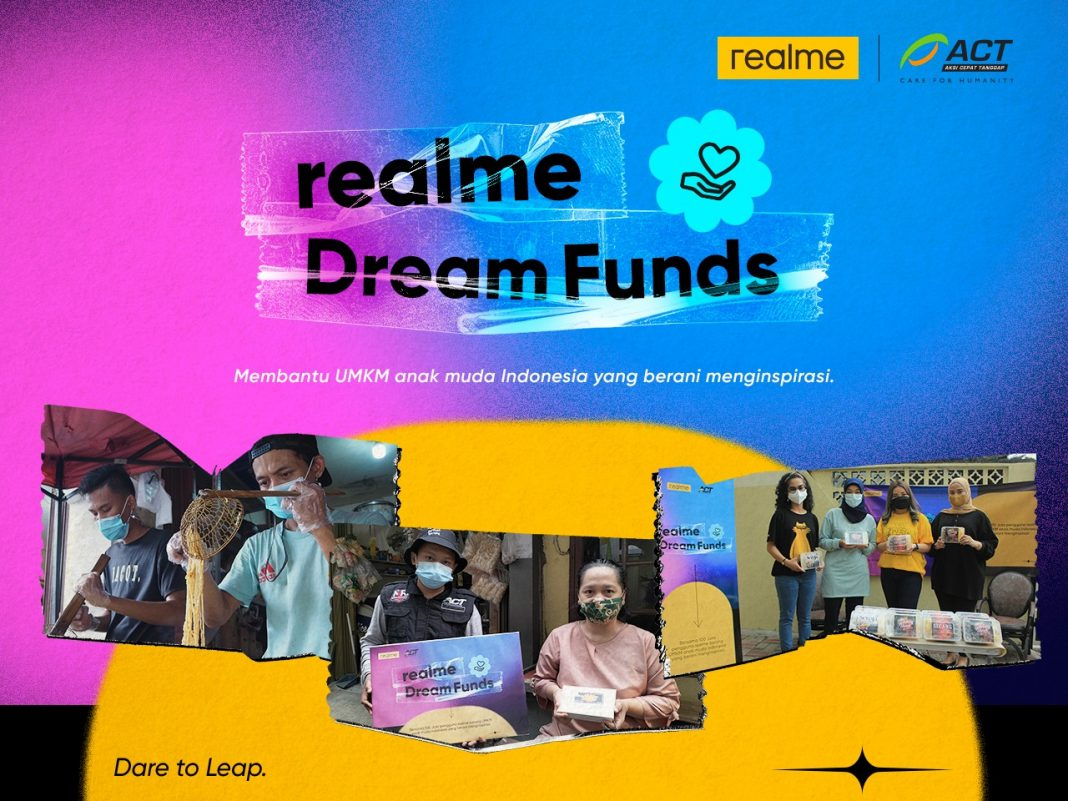"Laris Manis di realme Fan Festival 2021, reame Borong Dagangan UMKM di Program ""Dream Funds"""