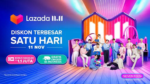Lazada Perkenalkan SEVENTEEN, Group Musik Korsel Sebagai Lazada Happiness Ambassador yang Pertama